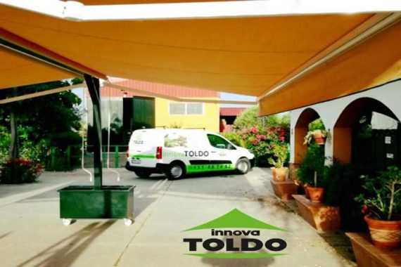 toldo couple autoportante doble