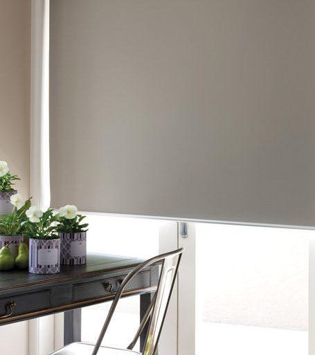 cortina black out beige