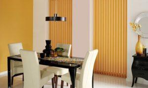 cortinas black out amarillas para salon