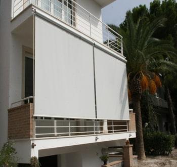 toldos verticales para porches