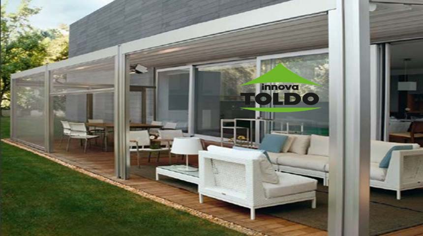 toldo vertical impermeable
