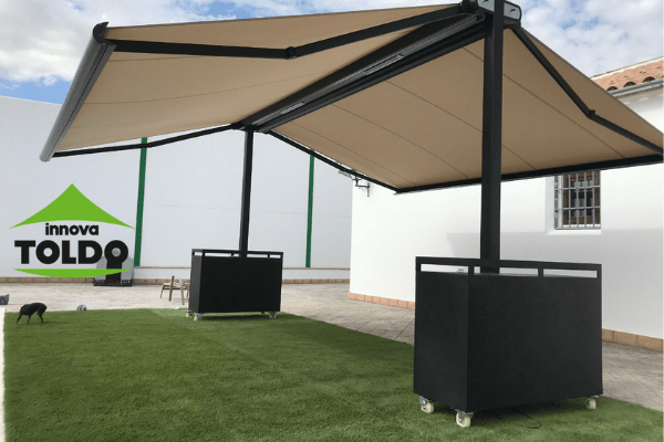 toldo-doble-autoportante-motorizado-Luxury-con-leds
